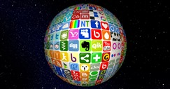 Internet Marketing Icon Globe--Small